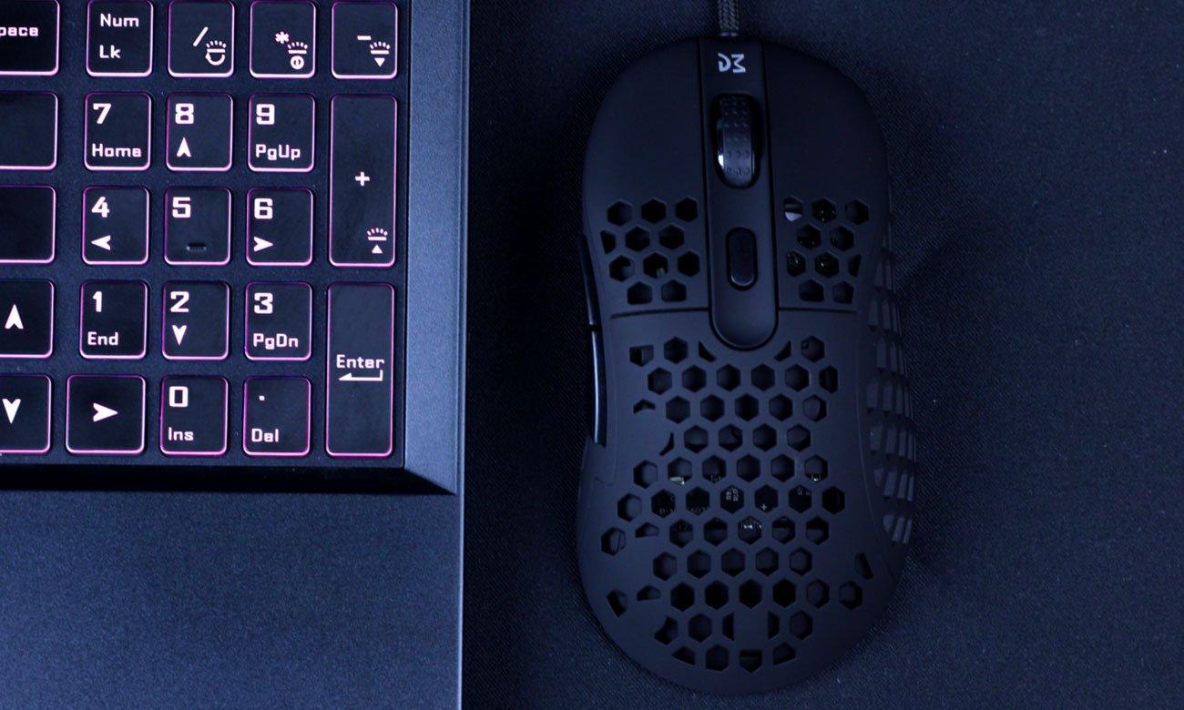Mysz dla graczy Dream Machines DM6 Holey S