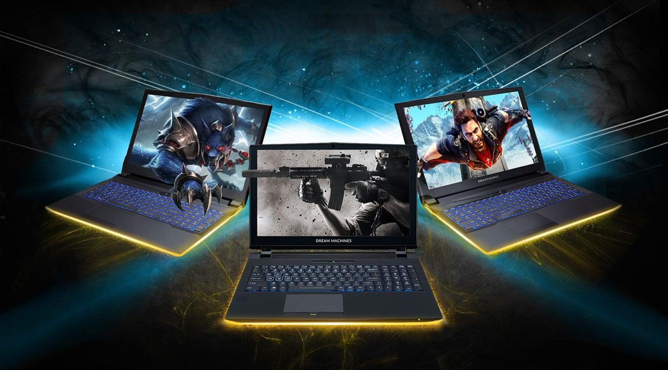 Laptop gamingowy Dream Machines G1050