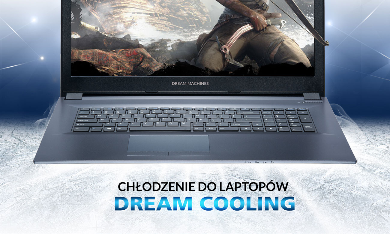 Dream Machines G1050-17PL31 chłodzenie Dream Cooling