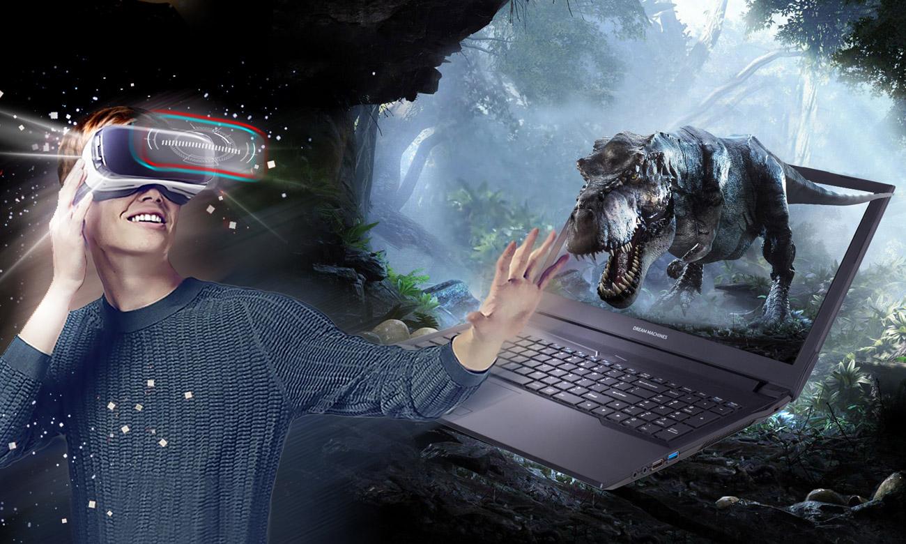 Dream Machines G1050-17PL49 Wejdź do fascynującego świata VR