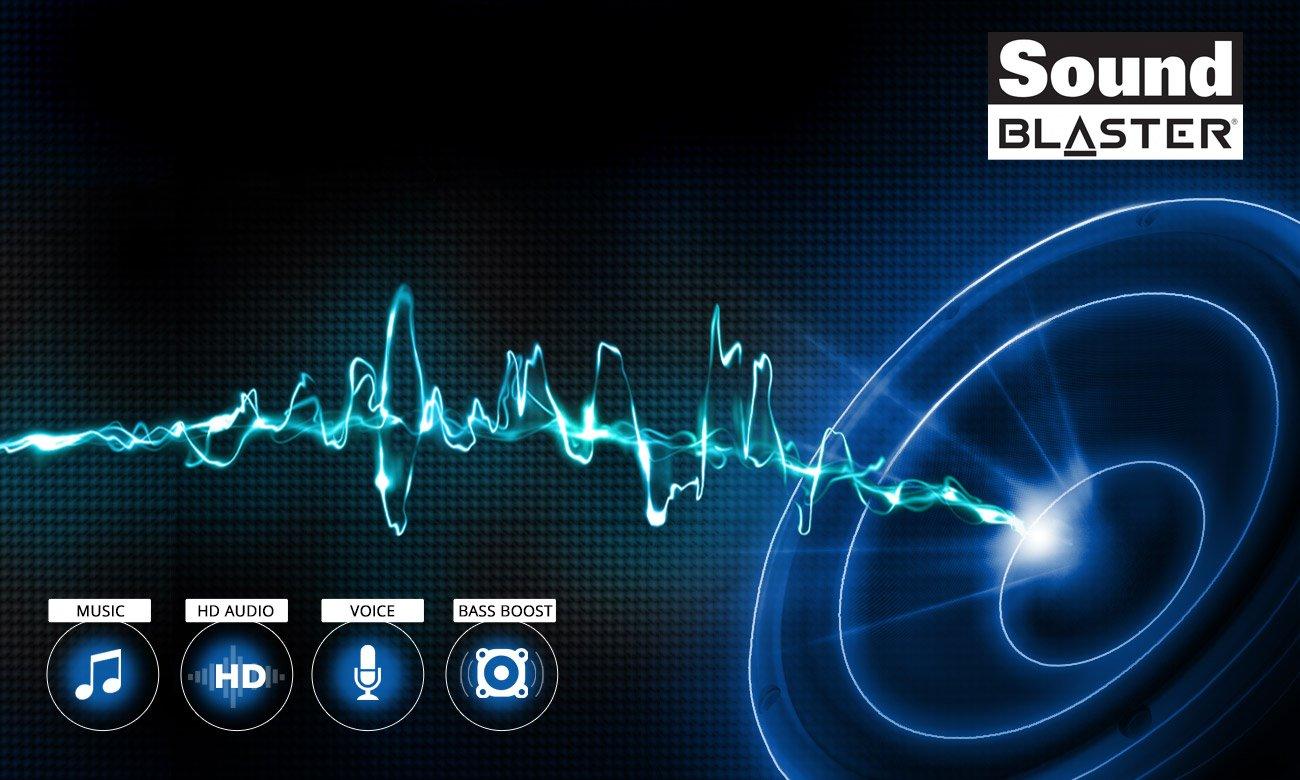 Dream Machines G1050-17PL49 wysoka jakość dźwięku przestrzennego