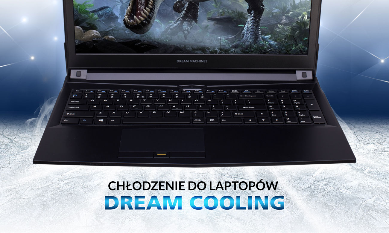 Dream Machines G1050Ti-15PL28 chłodzenie Dream Cooling