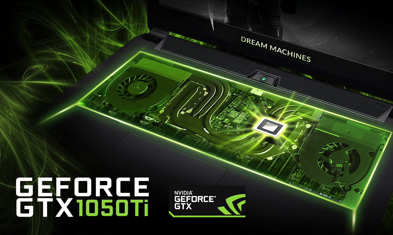 Dream Machines G1050Ti-17PL31 GeForce GTX 1050Ti