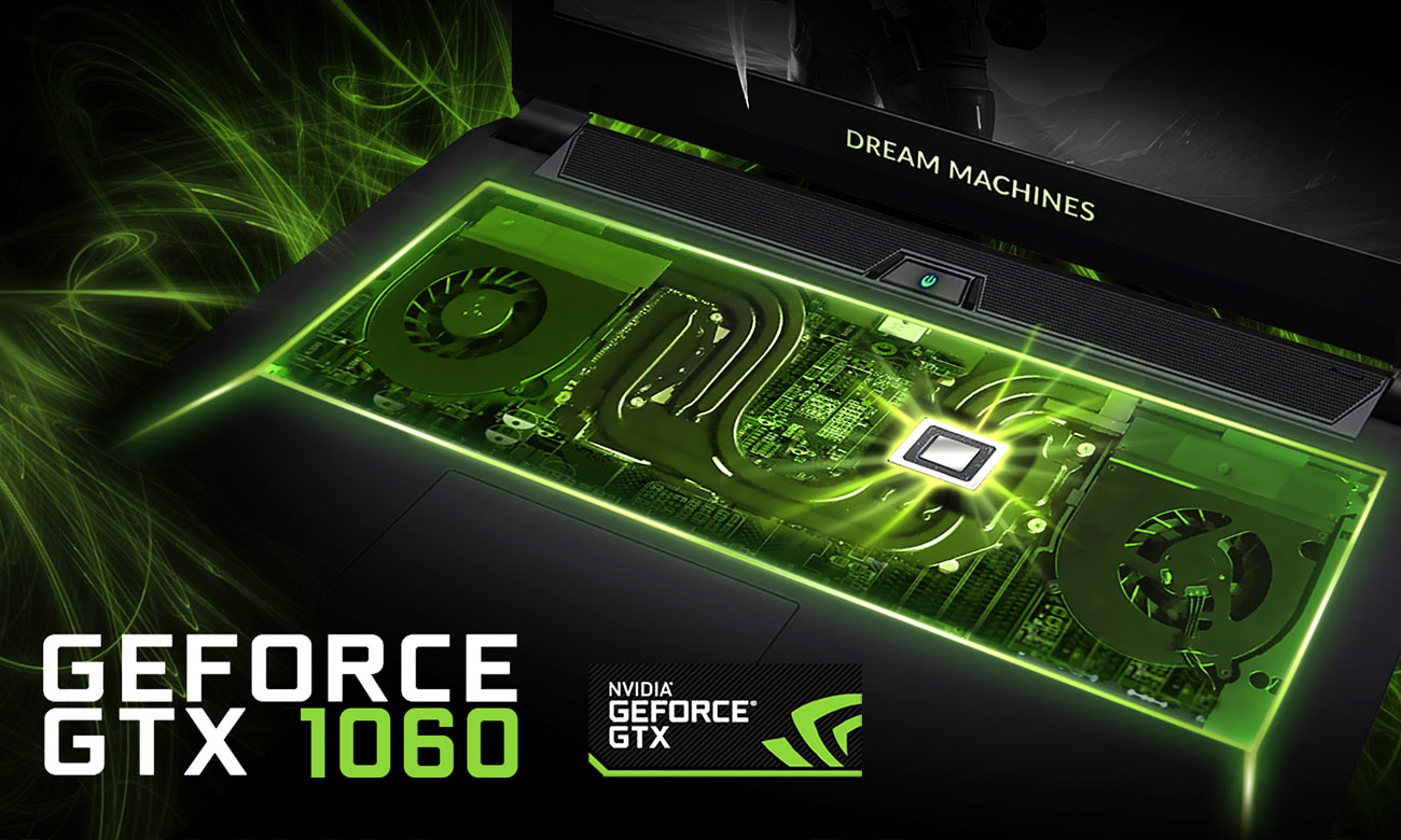 Dream Machines G1060-15PL31 GeForce GTX 1060