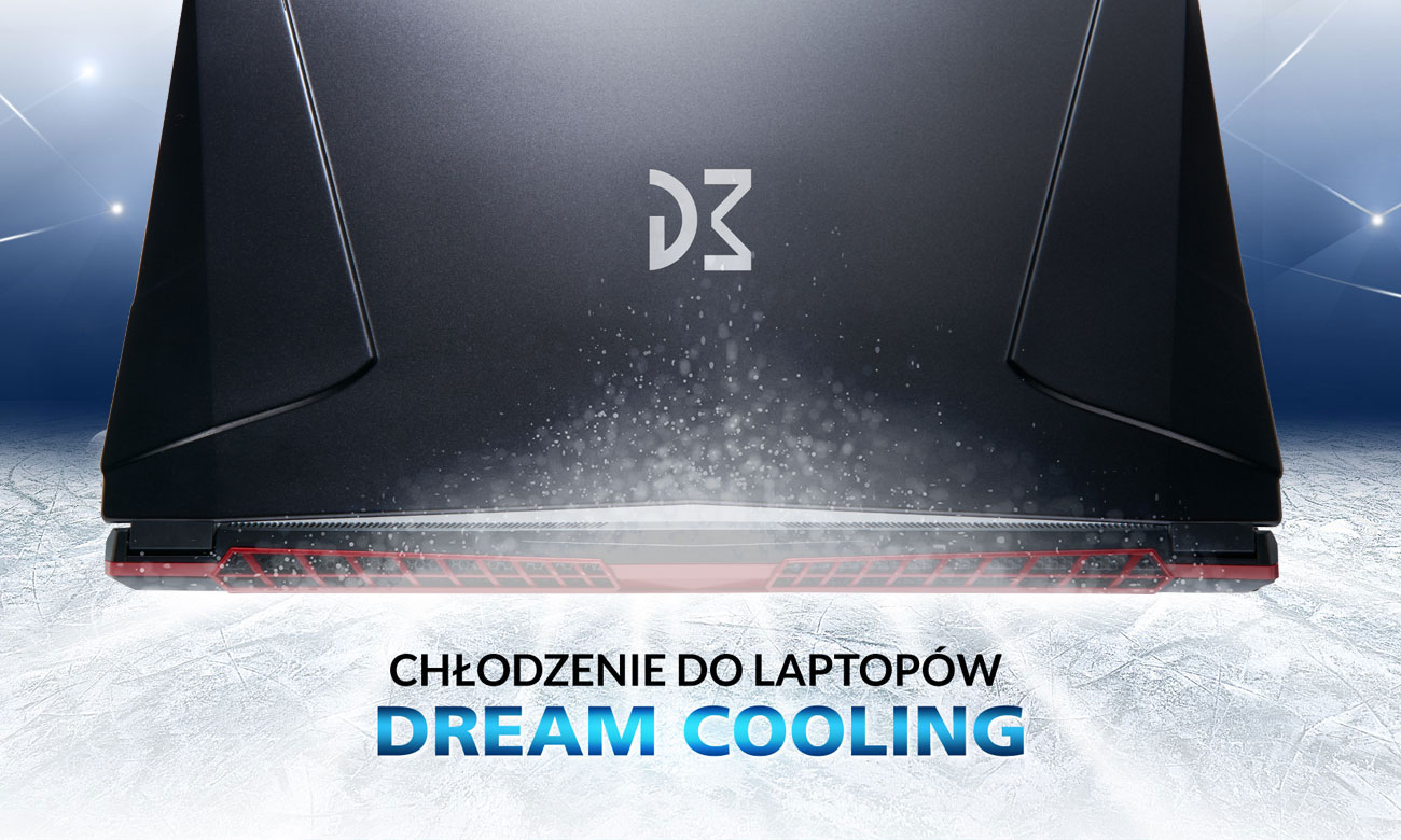 Dream Machines GS1070-17PL31 chłodzenie Dream Cooling
