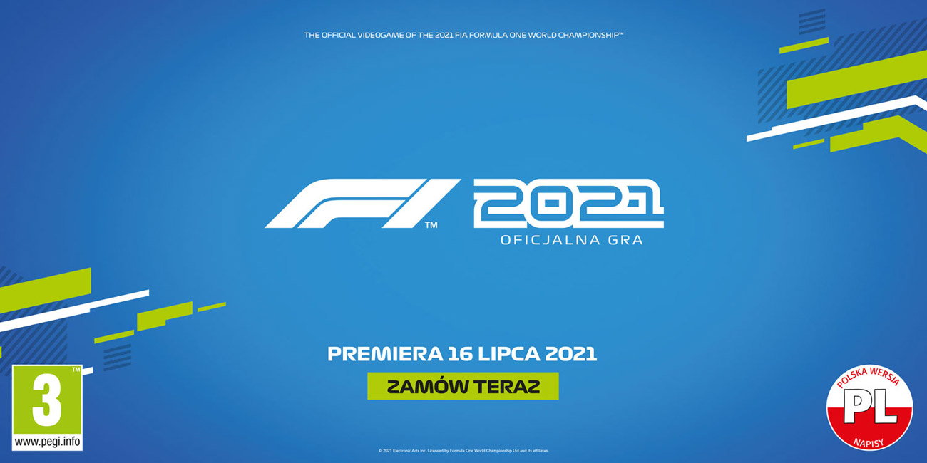 Gra F1 2021 na Xbox Series X|S i Xbox One