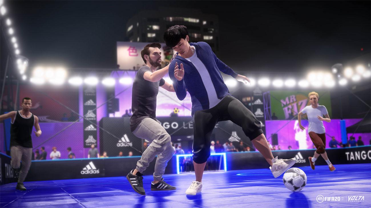 FIFA 20 - Tryb Volta, kiwanie