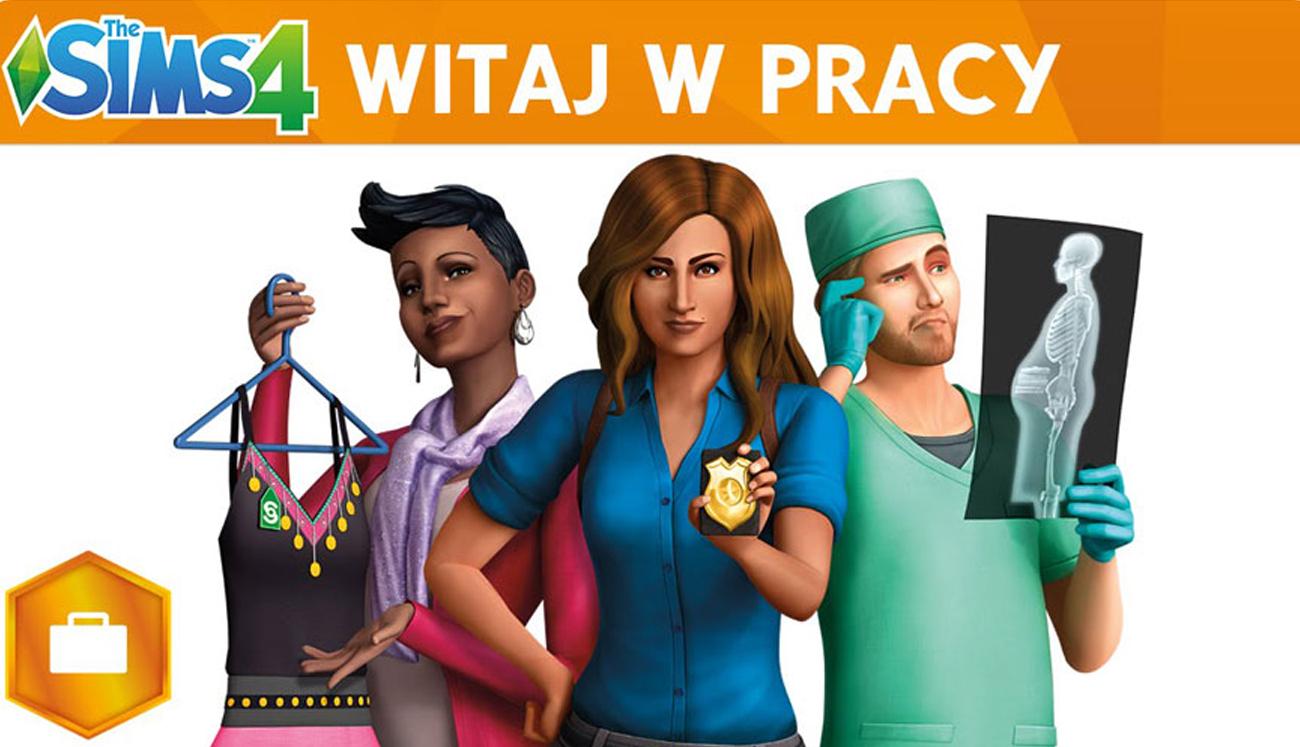 Sims: Witaj w pracy