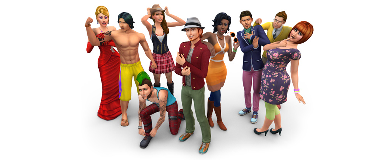 Gra na PC EA The Sims 4