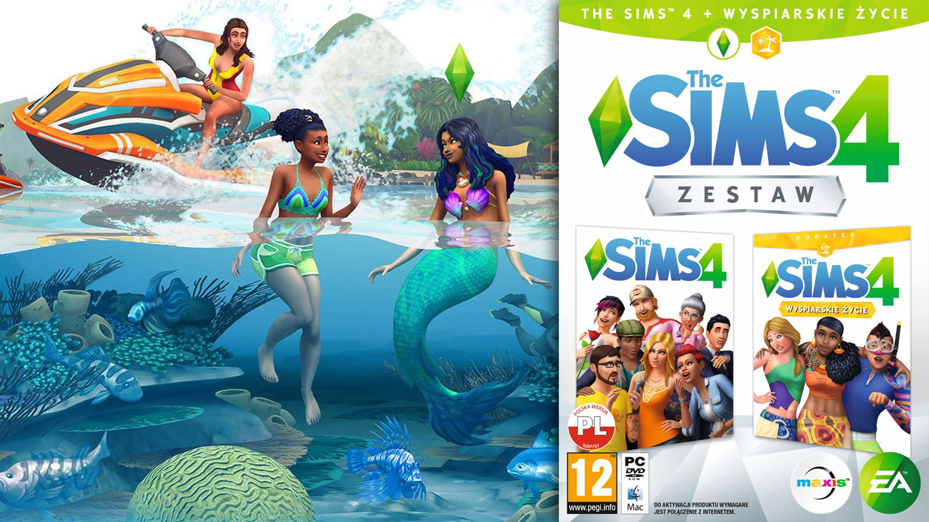 The Sims 4 Wyspiarskie Życie Zestaw