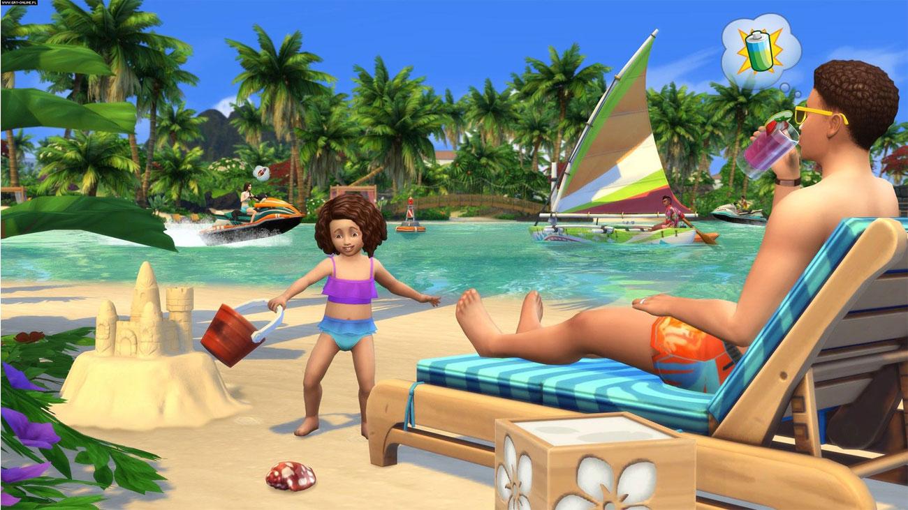 The Sims 4 Wyspiarskie Życie - Relaks