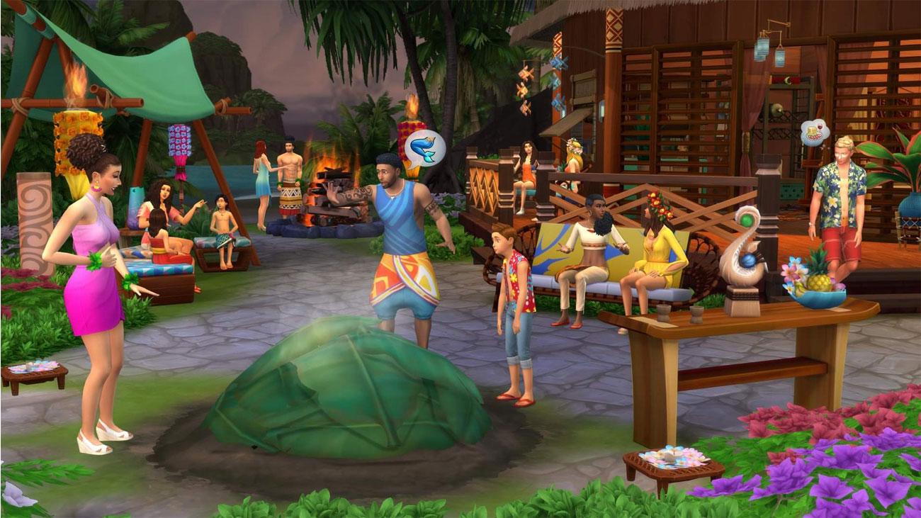 The Sims 4 Wyspiarskie Życie - Środowisko