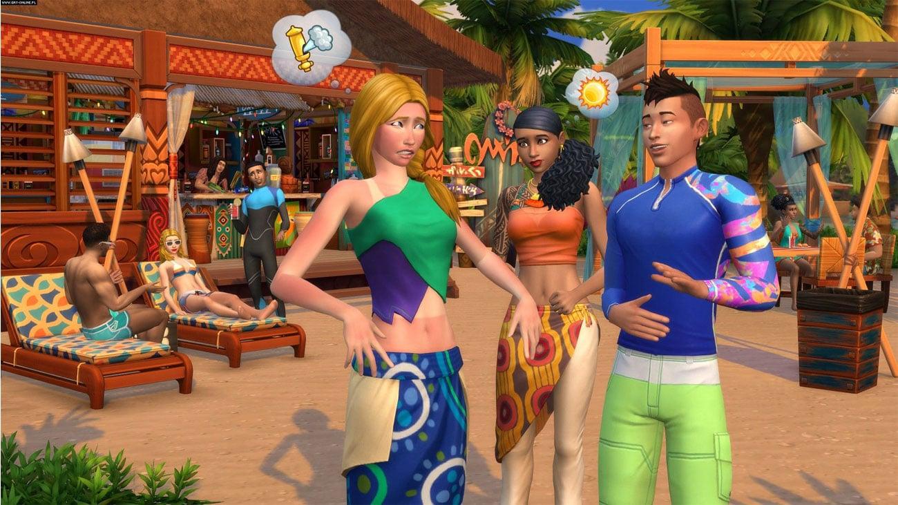 The Sims 4 Wyspiarskie Życie - Styl Sulani