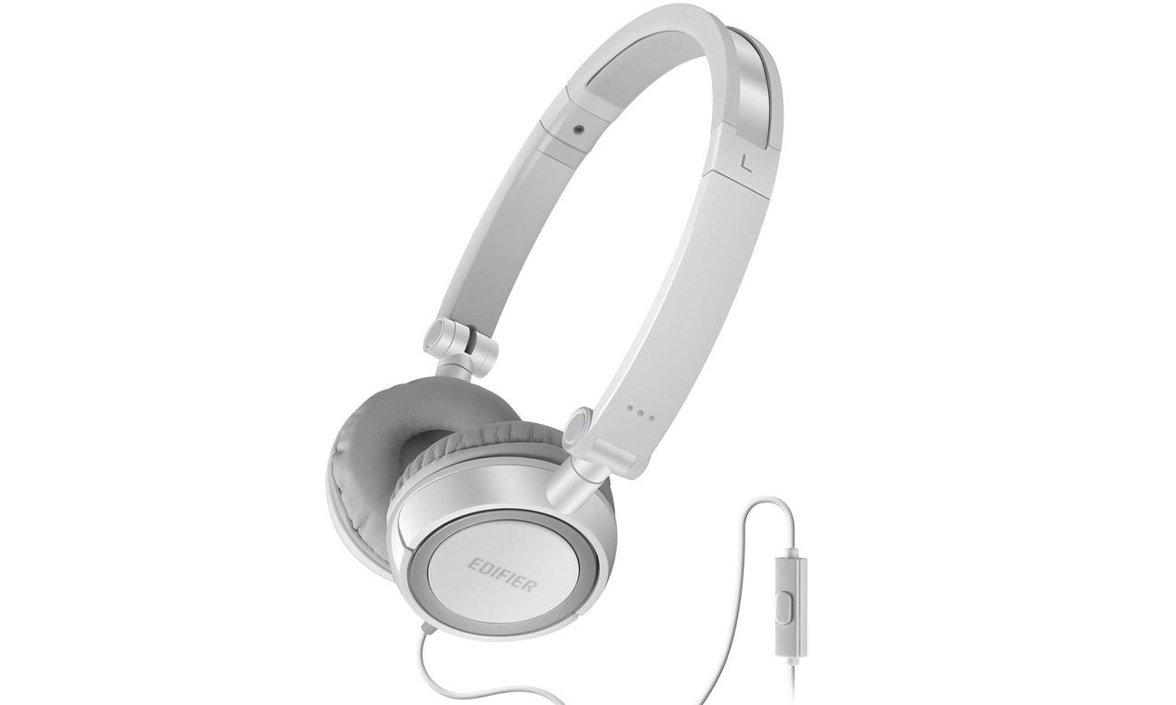 Słuchawki przewodowe Edifier P650 Białe
