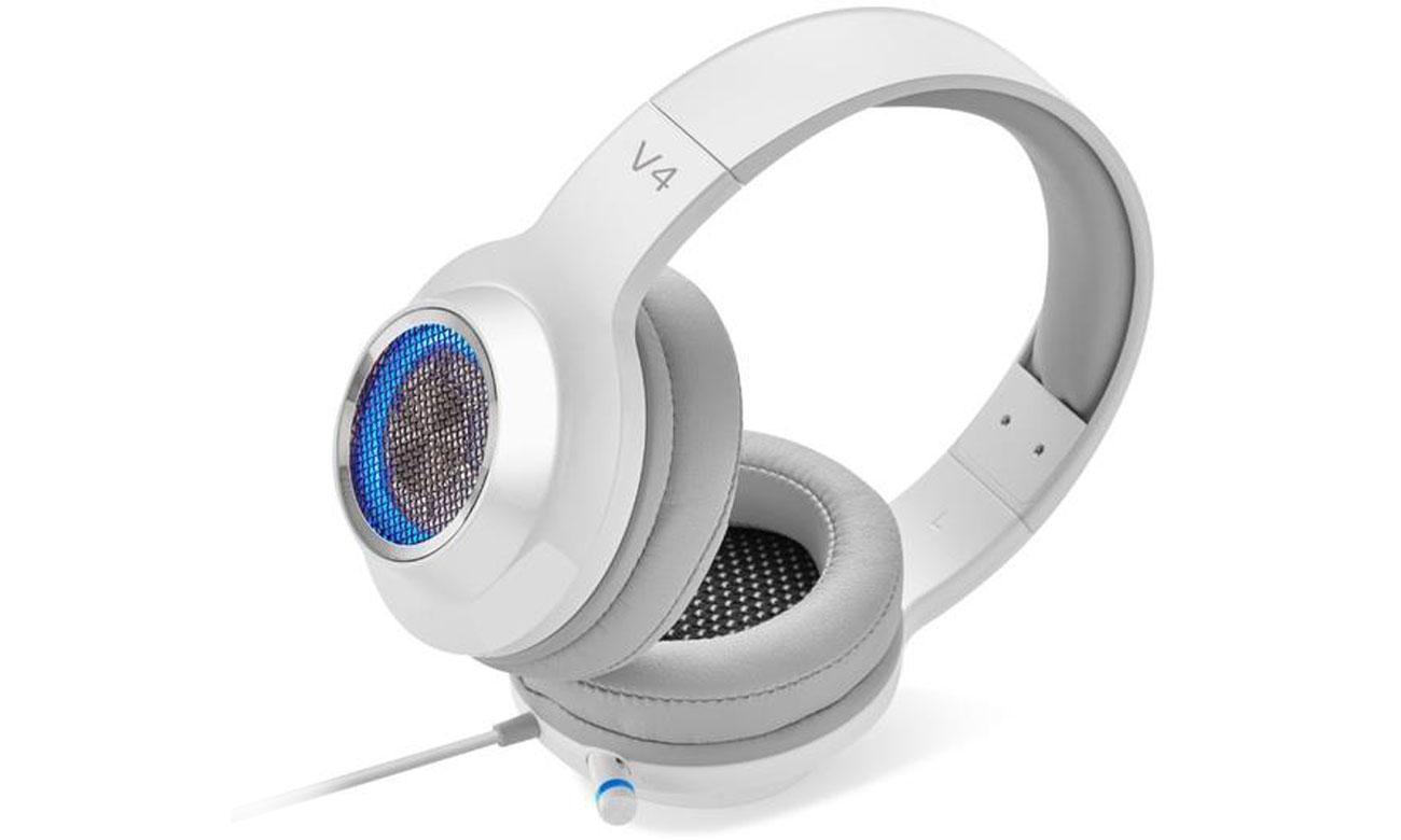 Zestaw słuchawkowy Edifier V4 Stereo Gaming Headset Biały