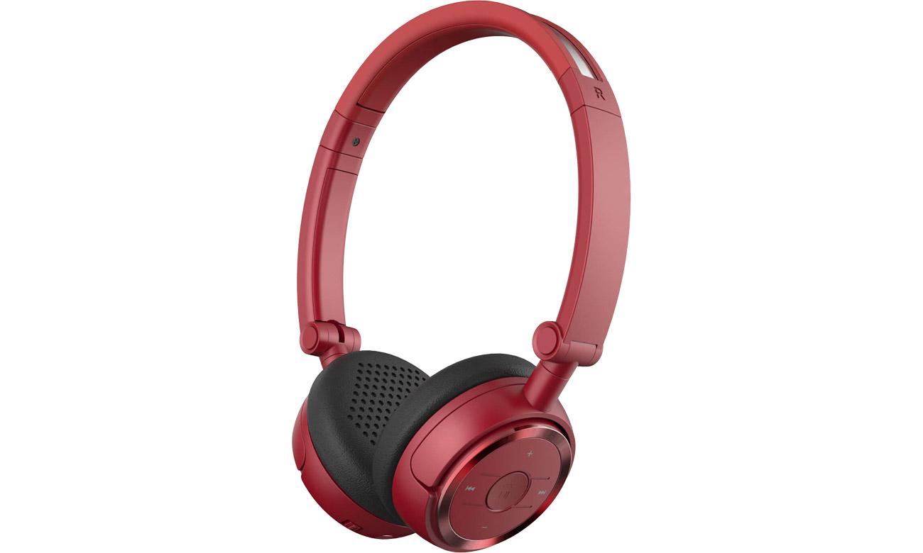 Słuchawki bezprzewodowe Edifier W675BT Czerwone