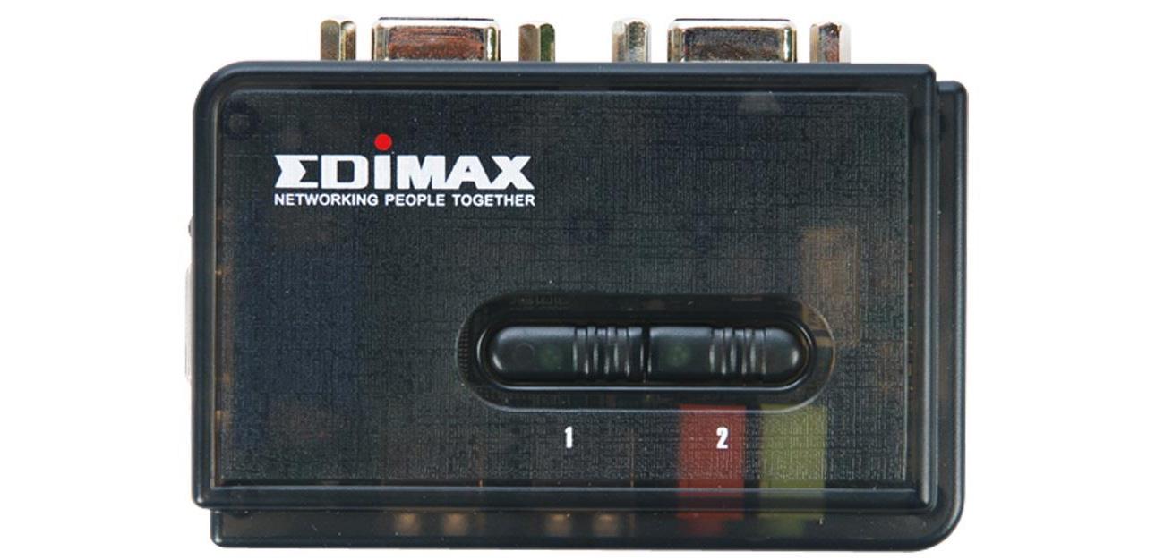 Przełącznik KVM Edimax EK-UAK2