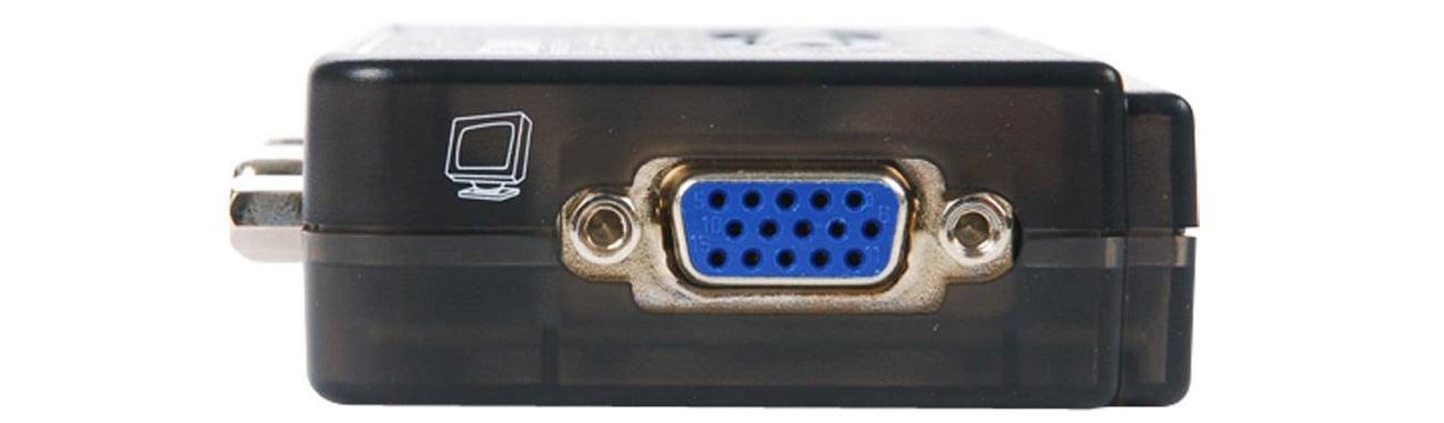 Przełącznik KVM Edimax EK-UAK2 VGA
