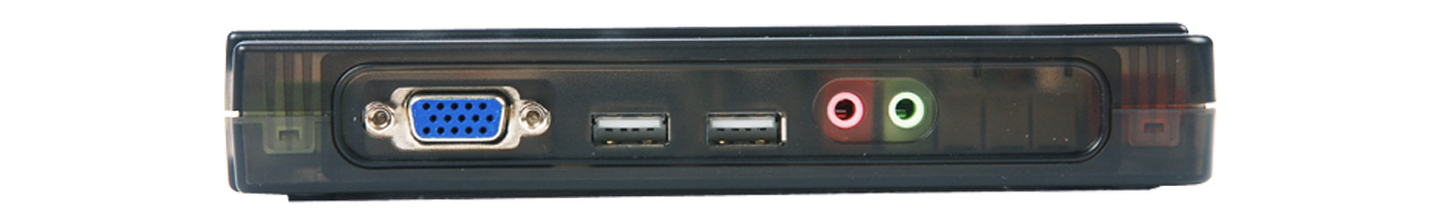 Przełącznik KVM Edimax EK-UAK4 złącza