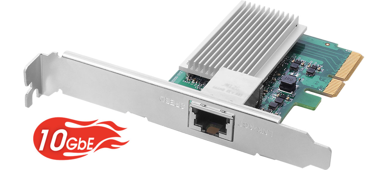 Karta sieciowa Edimax EN-9320TX-E 100/1000Mbit/10Gbit Low Profile