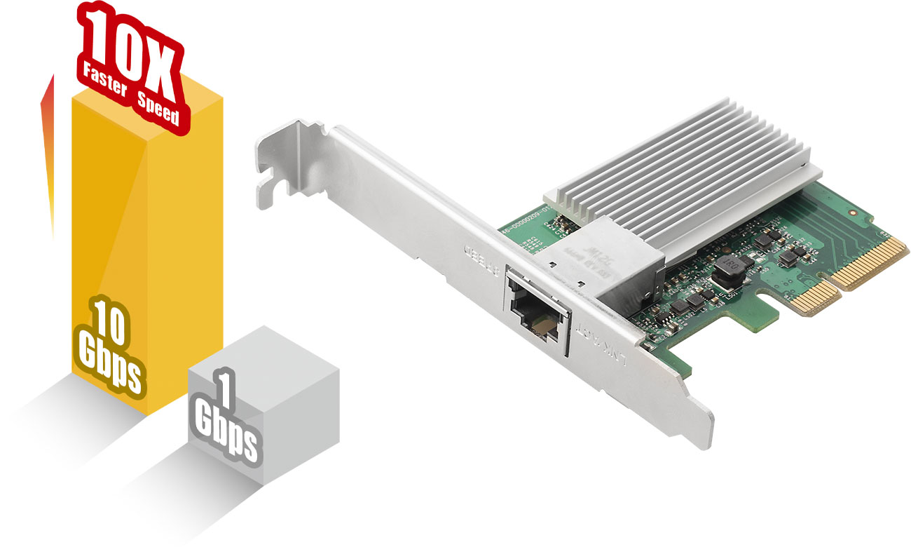 Edimax EN-9320TX-E Prędkość 10 Gb/s
