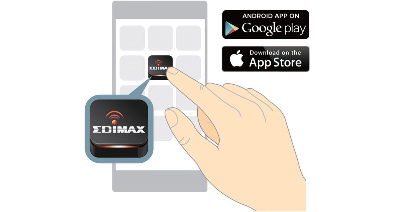 Edimax EW-7438RPn Mini aplikacja