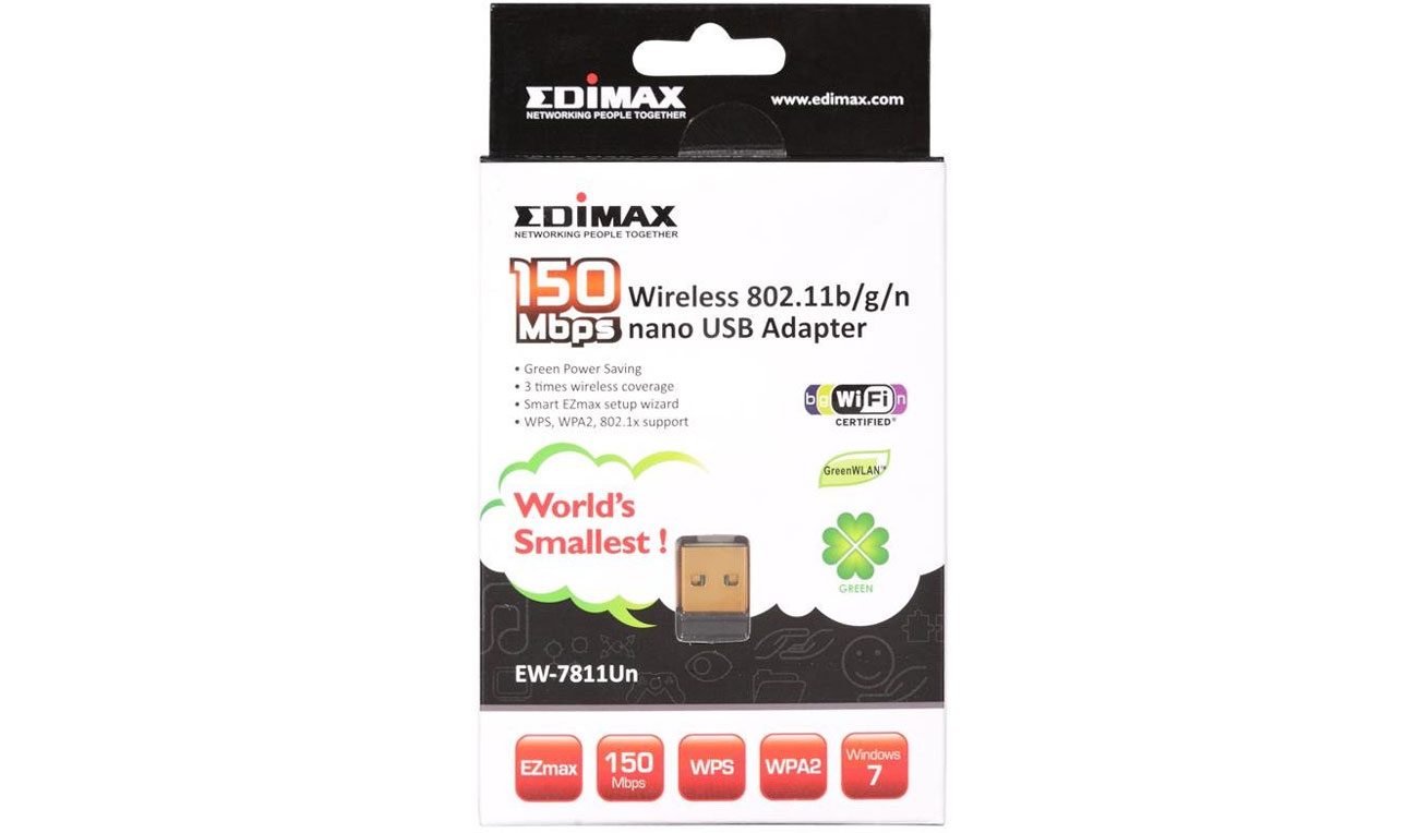 Edimax EW-7811Un wps