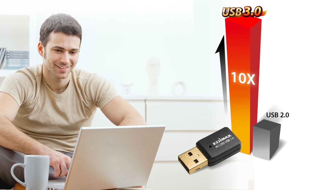 Edimax EW-7822UTC Interfejs USB 3.0