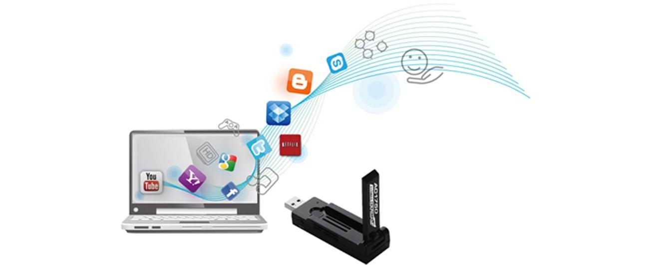 Edimax EW-7833UAC USB 3.0 pobieranie i streaming