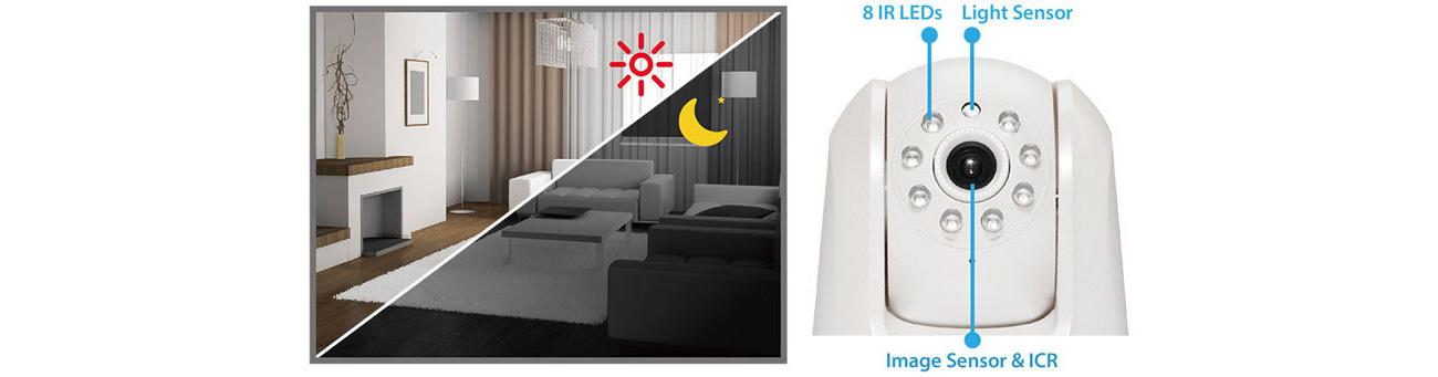 Kamera IP Edimax IC-7113W dzień/noc