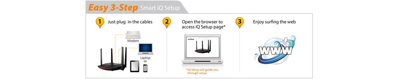 Edimax RG21S z funkcją iQ Setup