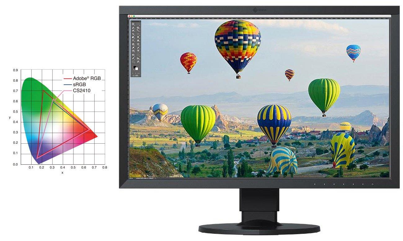 Monitor profesjonalny Eizo ColorEdge CS2410-BK