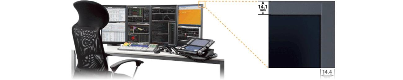 Eizo EV2216WFS3-GY monitor z wąskimi ramkami