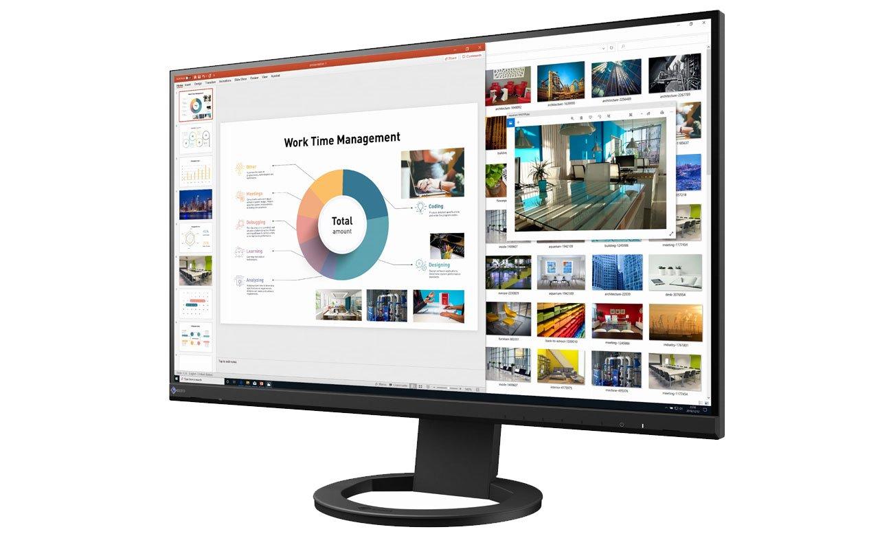 Wszechstronny monitor do domu i biura Eizo FlexScan EV2760-BK