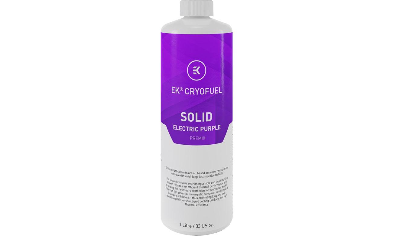 Płyn EKWB EK-CryoFuel Solid Electric Purple Premix 1000ml 3831109880340