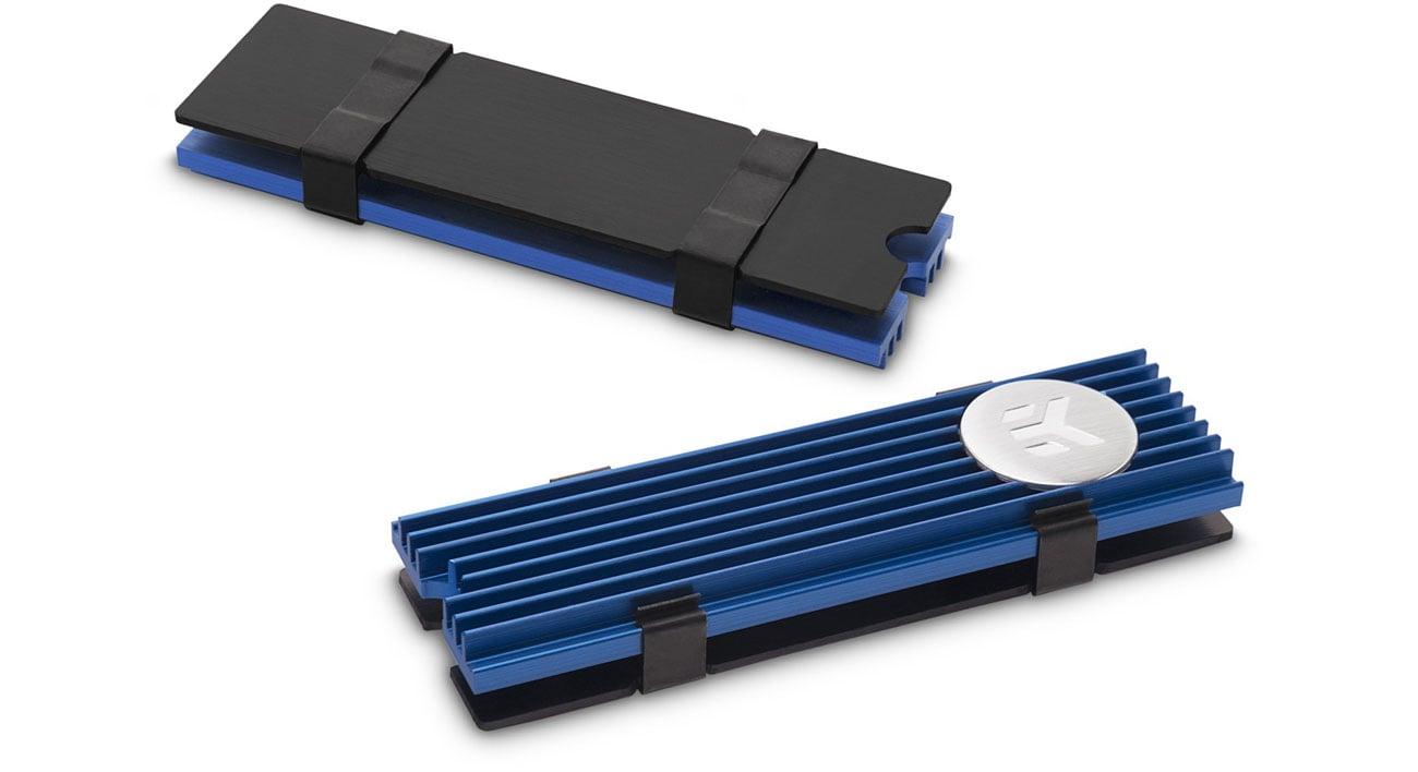 Chłodzenie dysku EKWB EK-M.2 NVMe Heatsink - Blue WAEK-1482/3830046991775