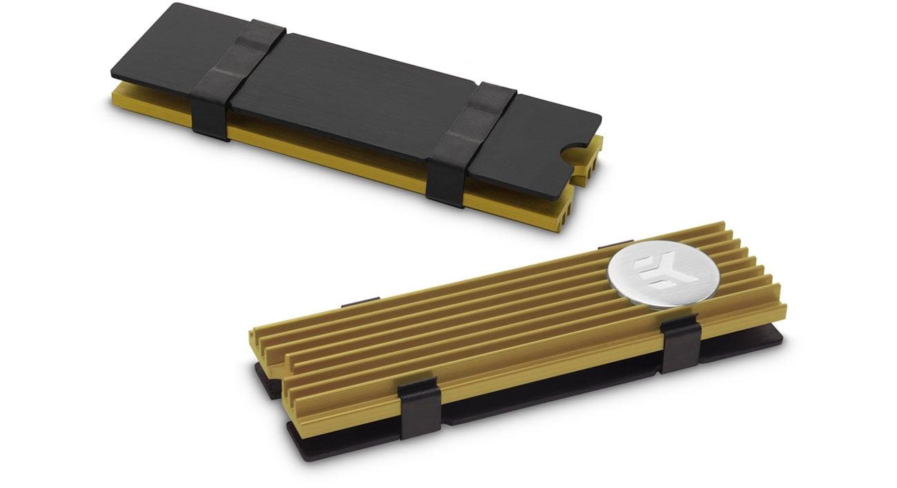 Chłodzenie dysku EKWB EK-M.2 NVMe Heatsink - Gold WAEK-1485/3830046995278