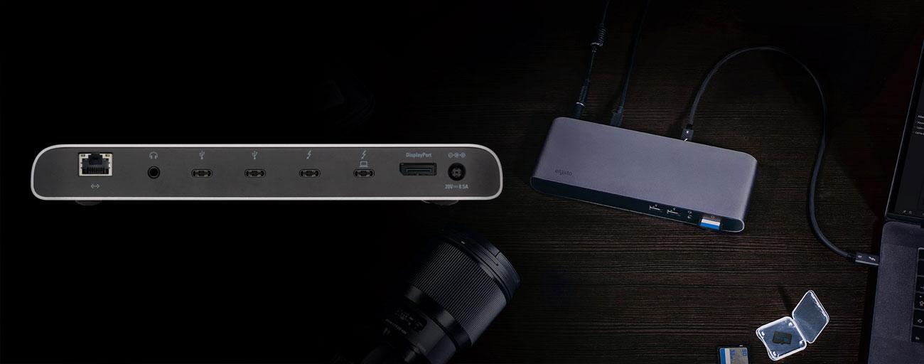 Elgato Thunderbolt 3 Pro Dock Łączność USB, SD