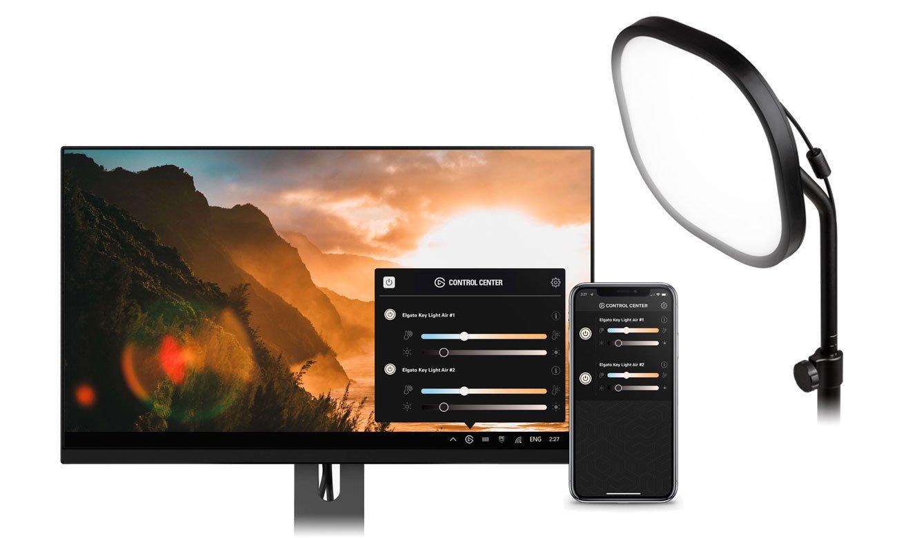 Elgato Key Light Air - Aplikacja