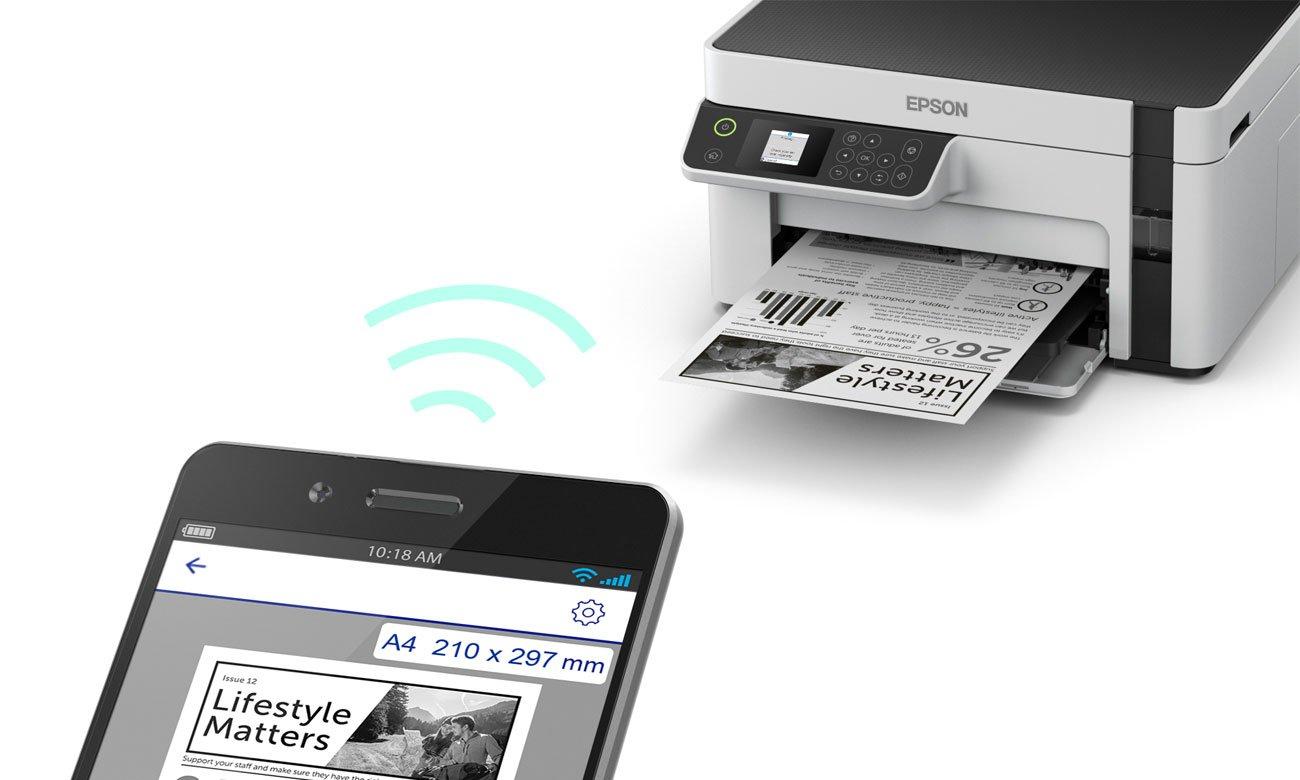 Urządzenie wielofunkcyjne idealne do domu i małego biura Epson EcoTank M2120