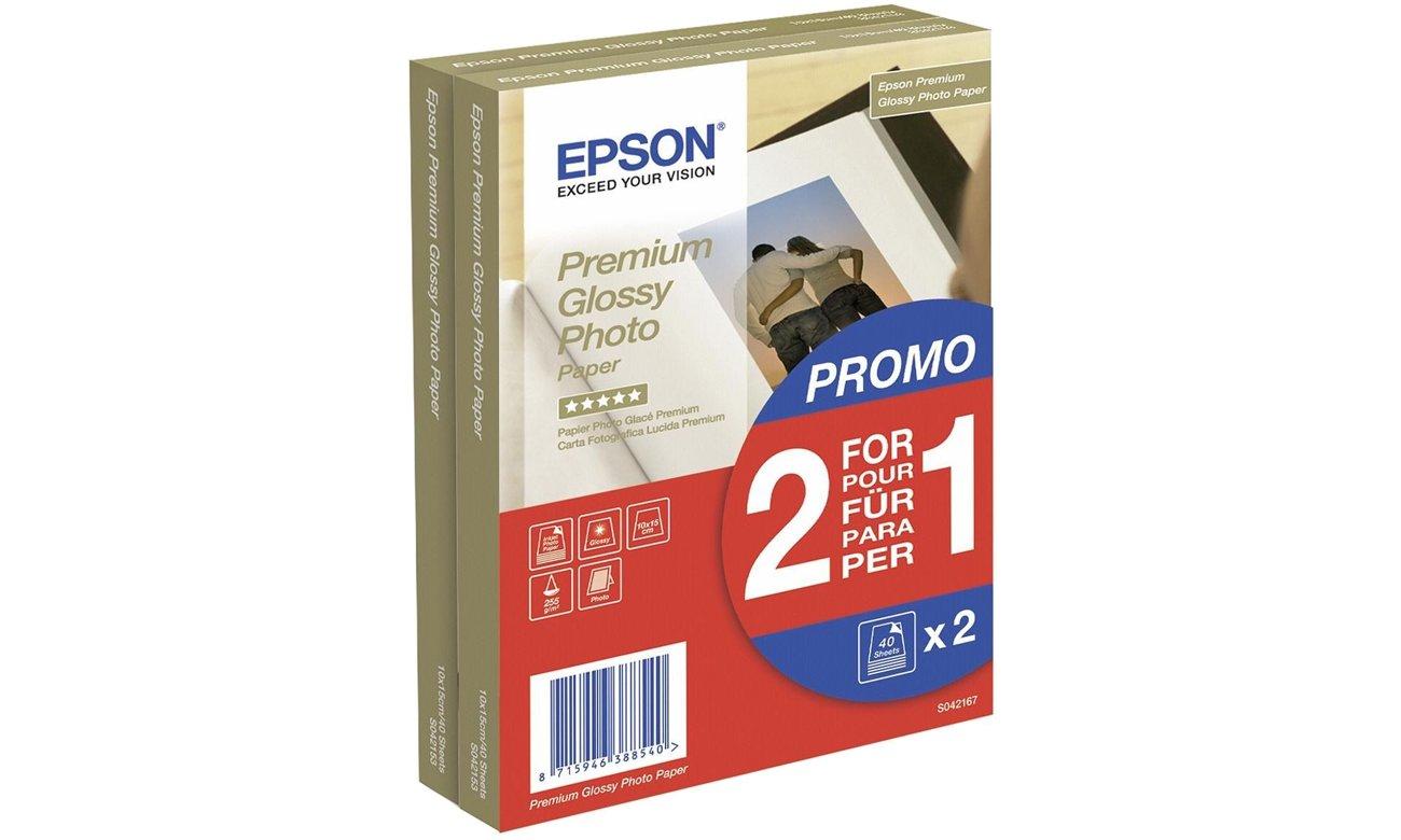 Papier do drukarki Epson Premium Glossy Paper 10x15 cm C13S042167