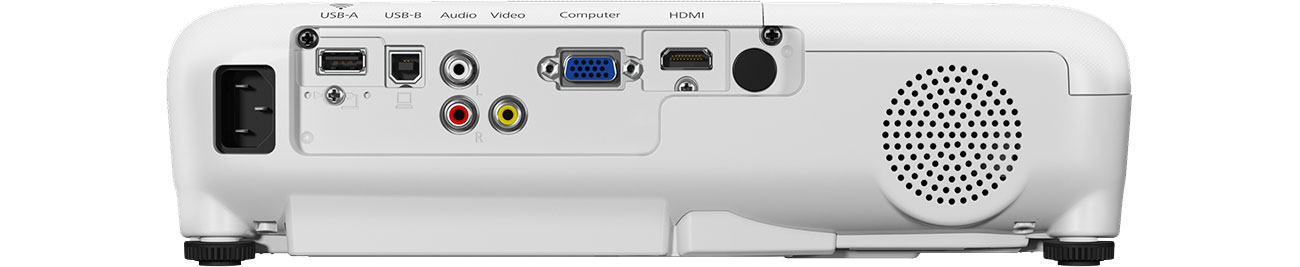 Projektor Epson EB-X05 - Złącza