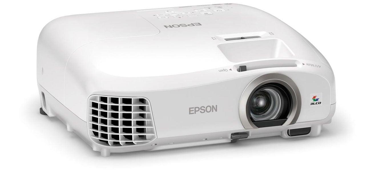 Epson EH-TW5300 3LCD odwzorowanie cieni głębokie czernie