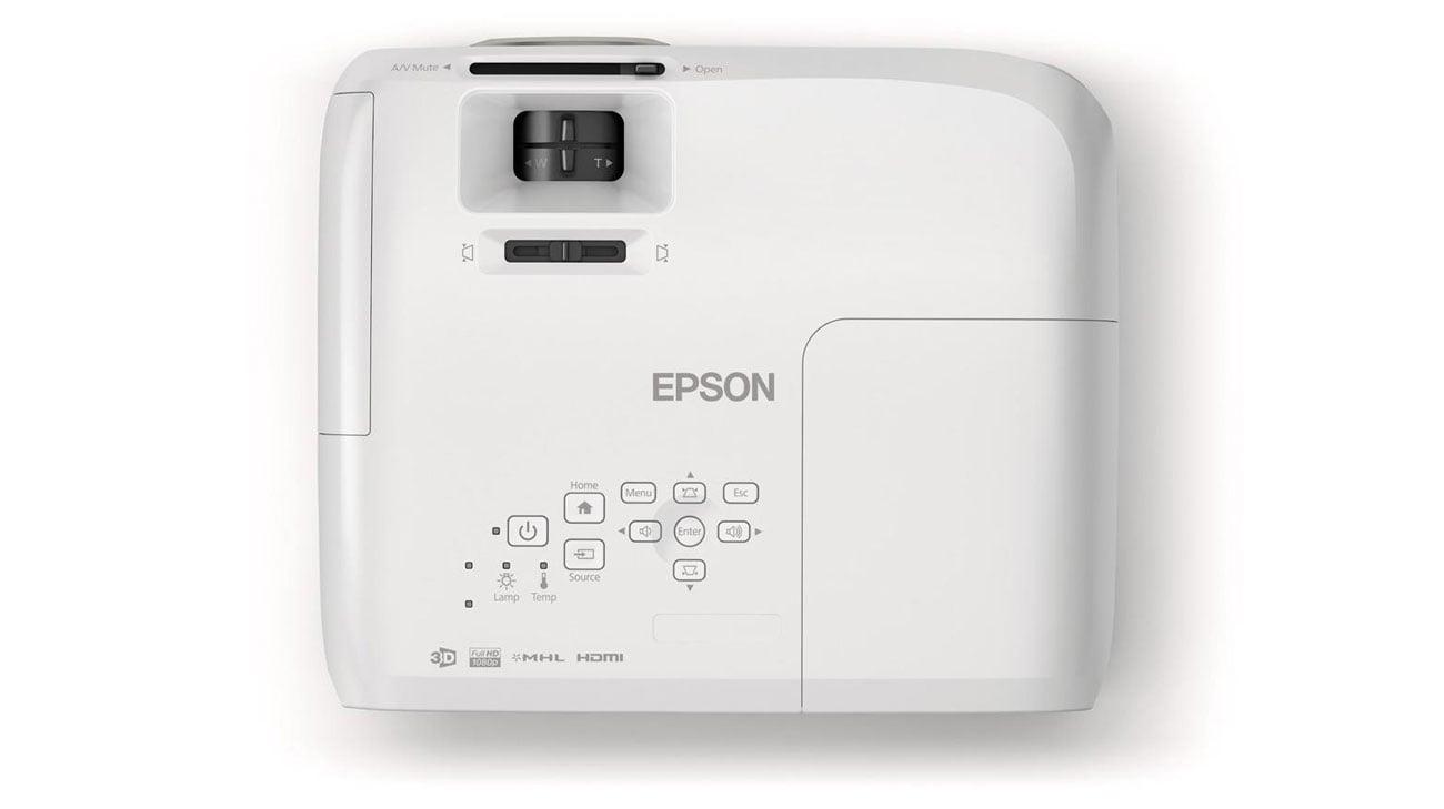 Epson EH-TW5300 3LCD jakość wfull hd