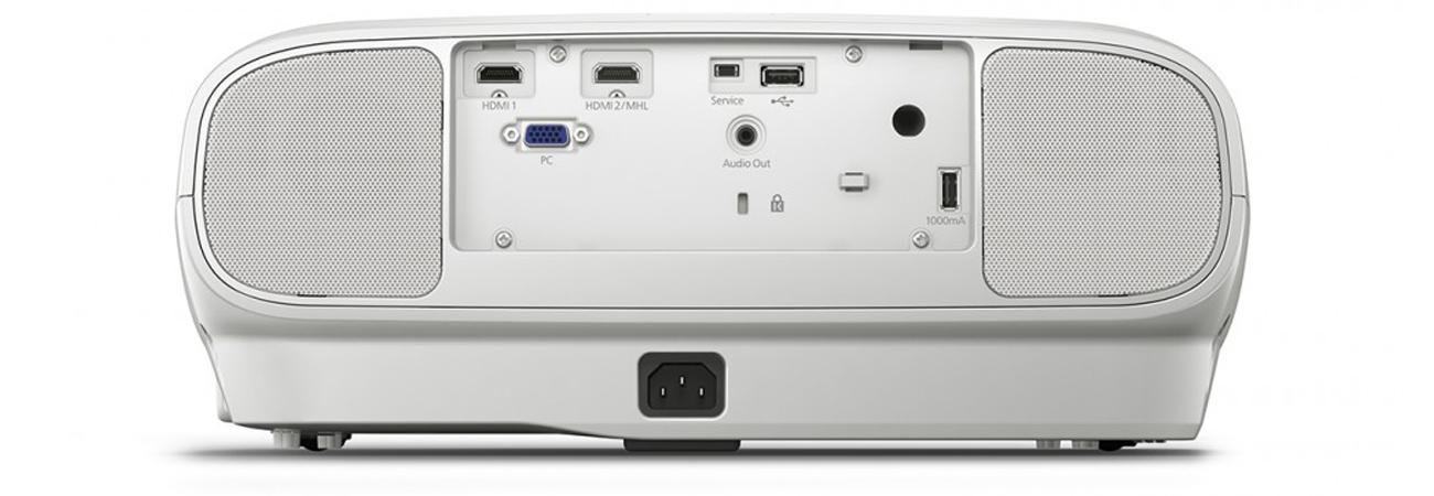 Epson EH-TW6700 Wiodk Z Tyłu