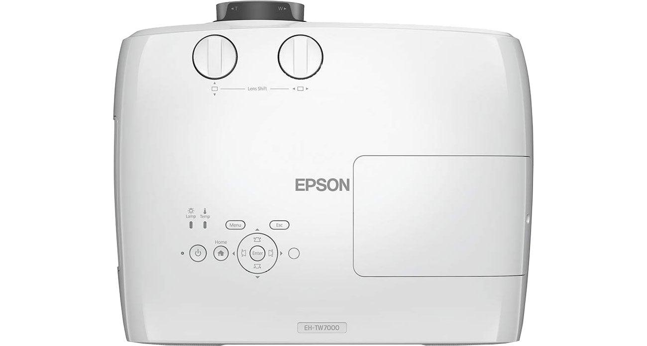 Epson EH-TW7000 - Widok z góry