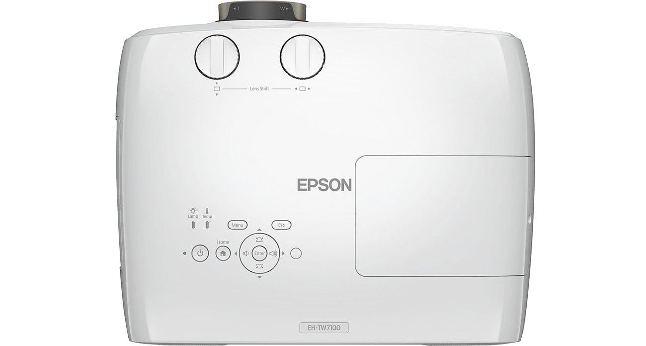 Epson EH-TW7100 - Widok z góry
