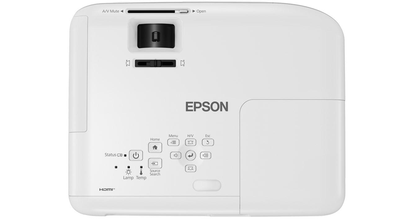 Epson EH-TW740 3LCD łatwa konfiguracja