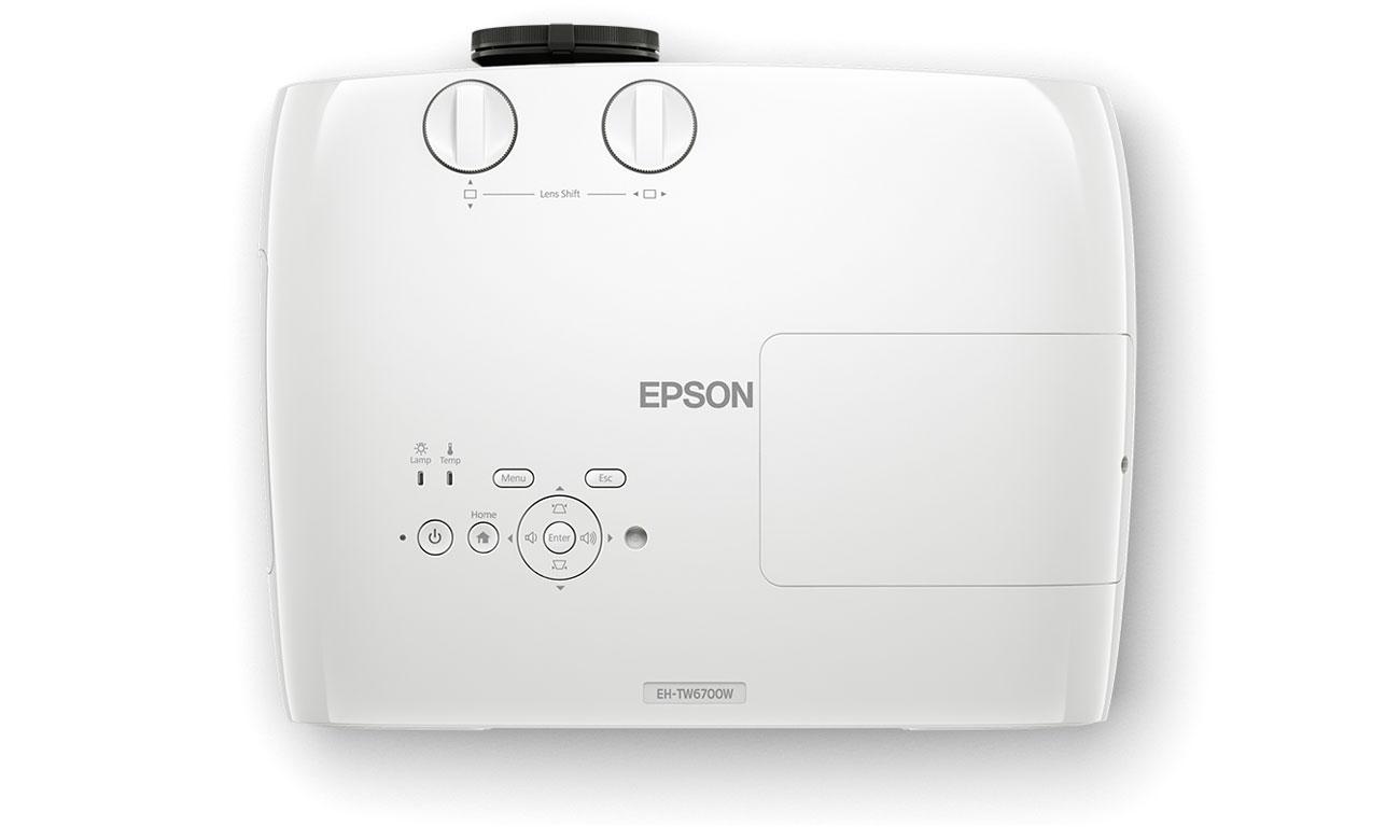 Epson EH-TW6700W Łatwa Obsługa