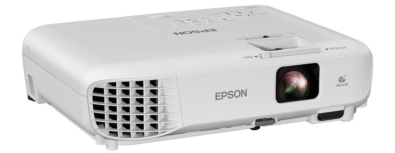 Epson EB-S05 Obraz O Przekątnej 350''